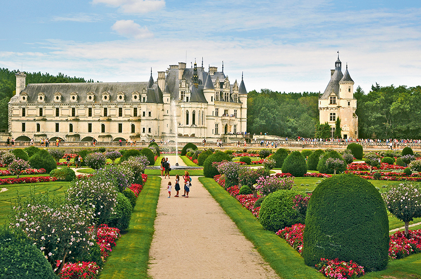 Loire Die Schonsten Schlosser Garten Sz Reisen Reisen Sie