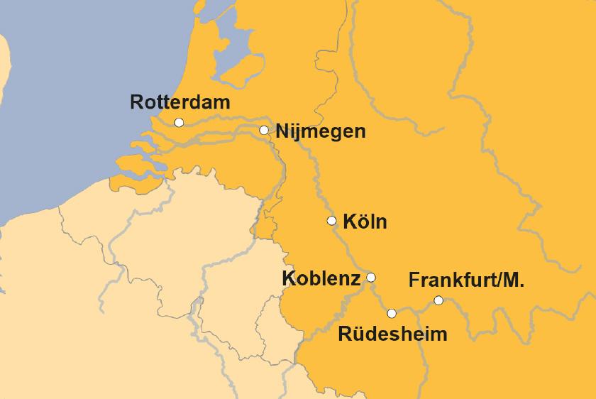 Ms Normandie Von Loreley Bis Rotterdam Sz Reisen Reisen Sie Mit