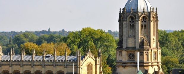 Christ Church College, Oxford © VisitBritainImages, VisitEngland Experience