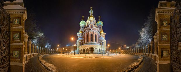 St. Petersburg im Winter © Saint Petersburg City Tourist Information Buero