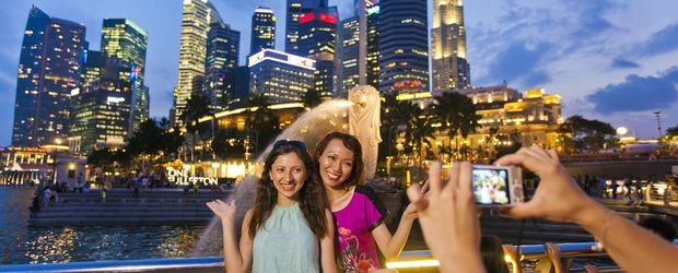 Skyline Merlion © Singapore Tourism Bord