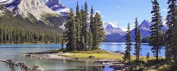 Jasper Nationalpark Maligne Lake © Frank Merfort, Fotolia