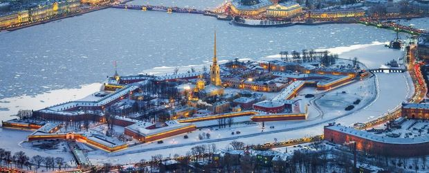 St. Petersburg - Peter und Paul Festung © Saint Petersburg City Tourist Information Buero