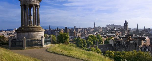 Calton Hill Edinburgh © Craig Easton, VisitBritain