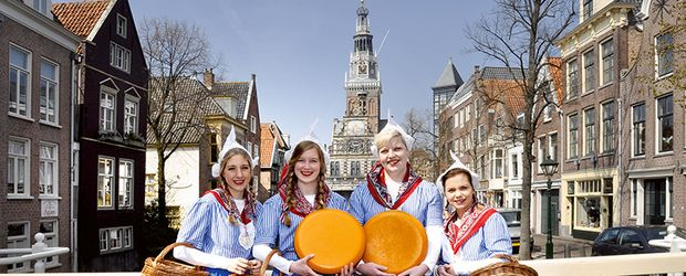 Alkmaar Kaasmeisjes © NBTC Holland Marketing