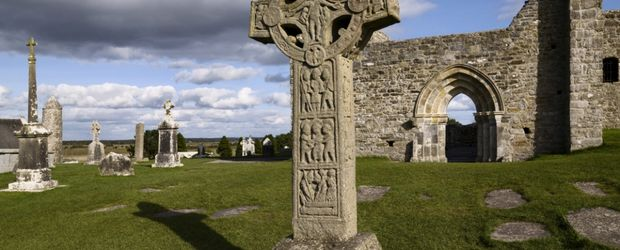 Clonmacnoise Shannonbridge Offaly © Brian Morrisson, Tourismus Irland