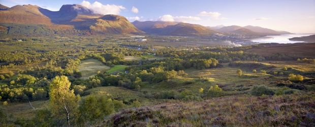 Ben Nevis Fort William an Loch Linnhe © Joe Cornish, Visit Britain